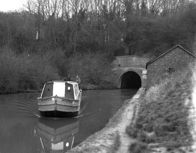 South portal of Blisworth Tunnel, Grand Union Canal
