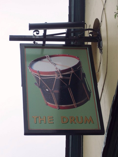 Sign for the Drum, Petersfield