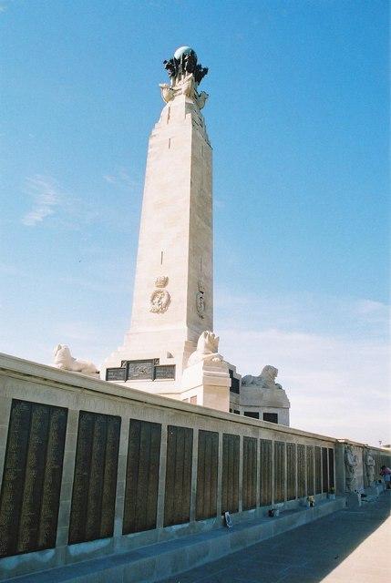 Southsea: war memorial