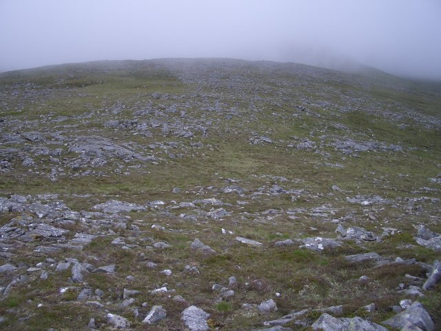 North ridge of Aonach Beag