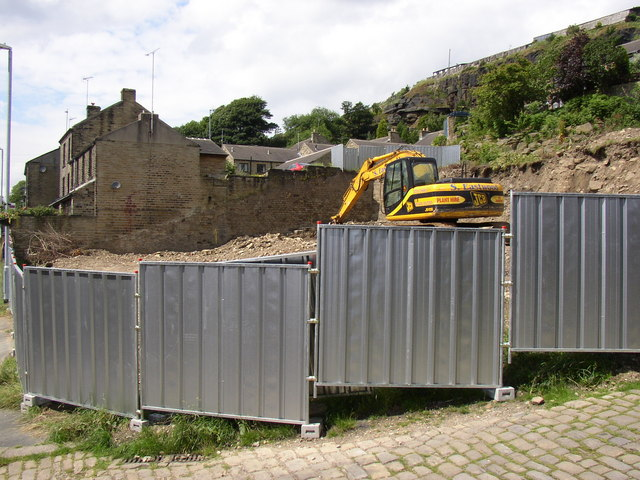 Building site, Longwood Gate, Longwood