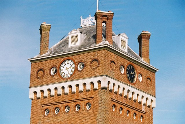 Black clock, white clock
