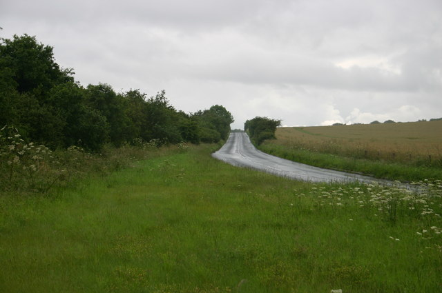 The road to Bulford Camp