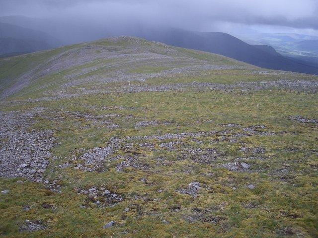 Beinn Eibhinn - west ridge