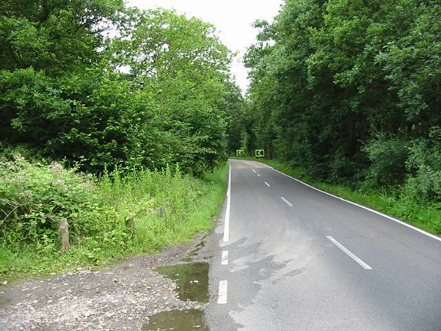 View SW along Thornden Wood Road