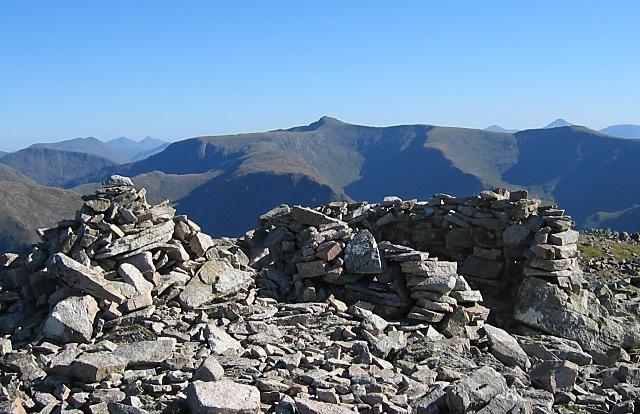 Stob na Bròige - summit cairn