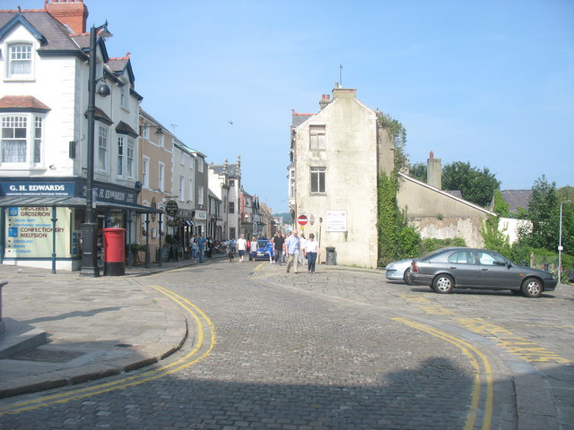 Top of the High Street, Conwy