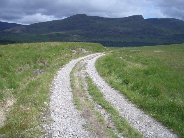 Track to Lochan na h-Earba