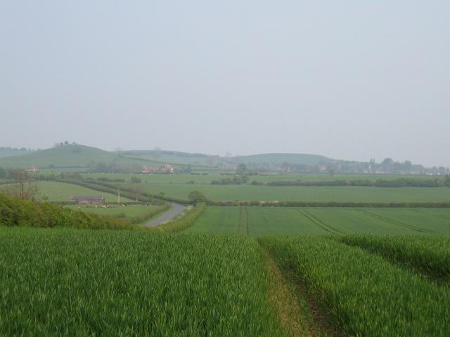 Fields near Shipton Lee