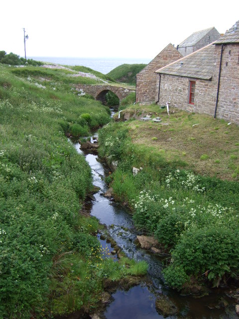 Mill stream, John o'Groats Mill