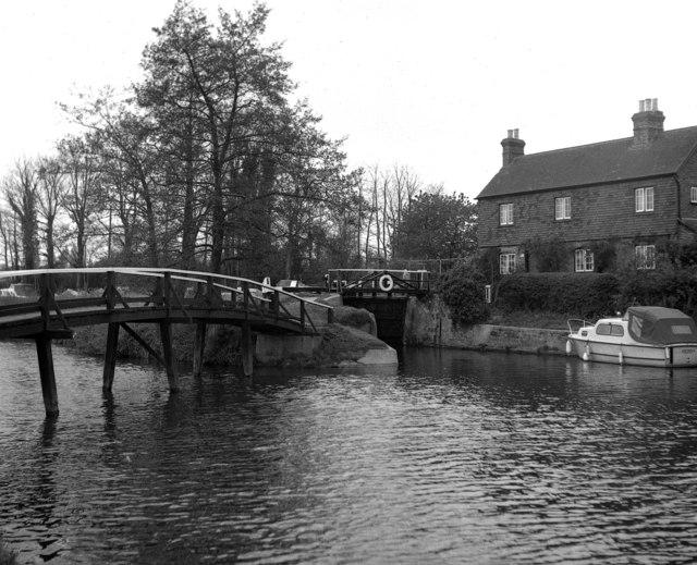 Stoke Lock, Wey Navigation, Surrey