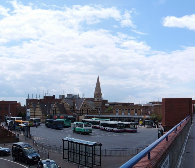 Museum and bus station