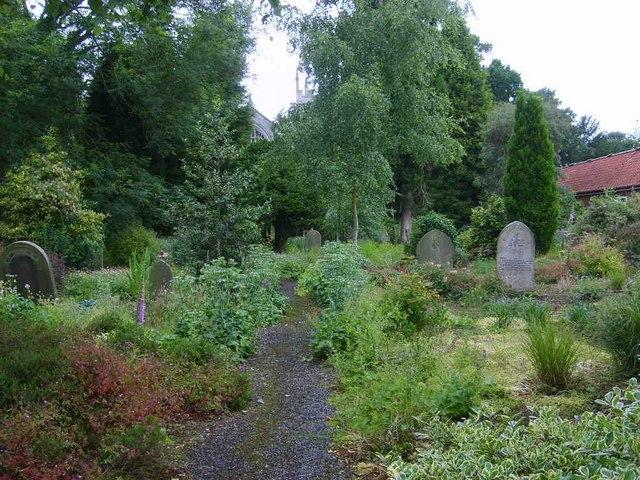 Bolton Percy new graveyard