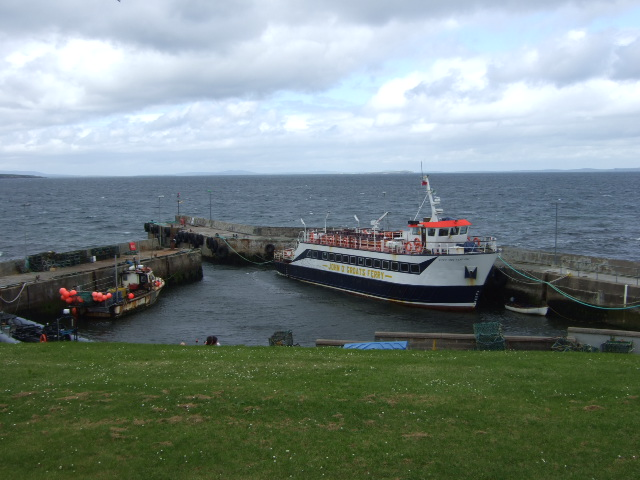 The John o'Groats ferry