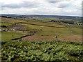 SE2101 : Hartcliff Hill Bridleway looking to Moor Royd by John Fielding