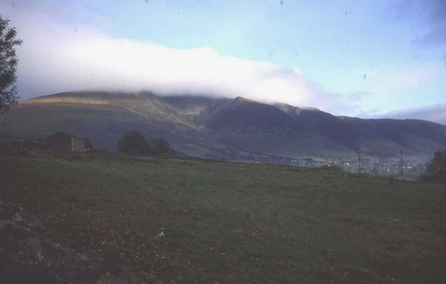 View of Blencathra from Shundraw Farm