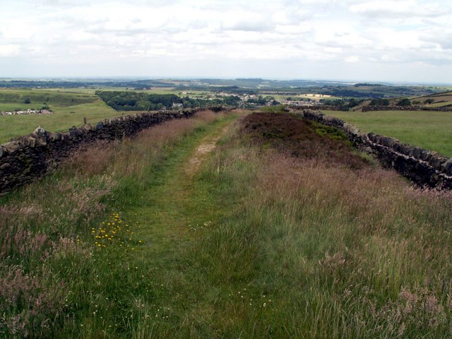 Bridleway to Hill Side
