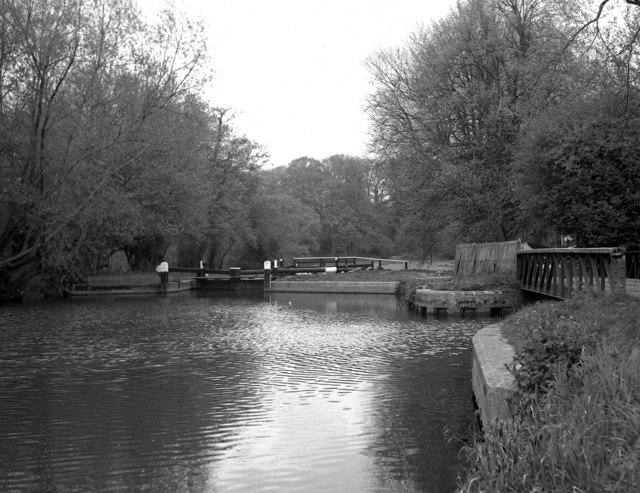 Bower's Lock, River Wey