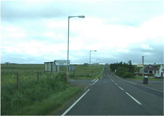 Junction for Duncansby Head