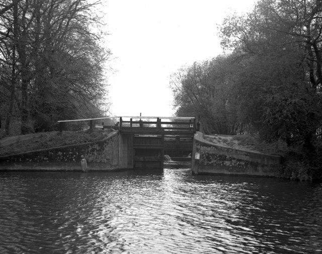 Bower's Lock, River Wey, Surrey