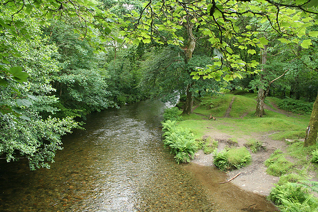 Whitchurch: the river Walkham