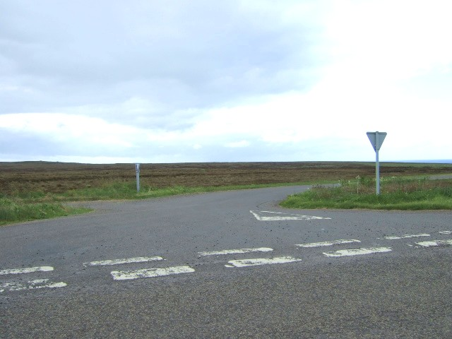 Canisbay road junction