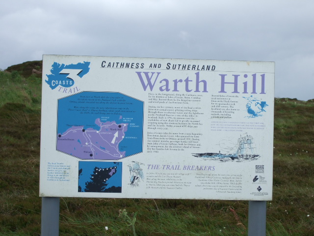 Warth Hill lookout point