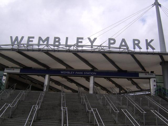 Entrance to Wembley Park Station