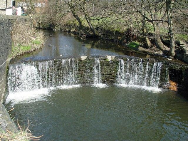 Weir on the river Ogden