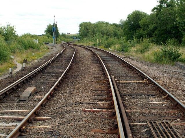Peistone to Sheffield  Railway Line