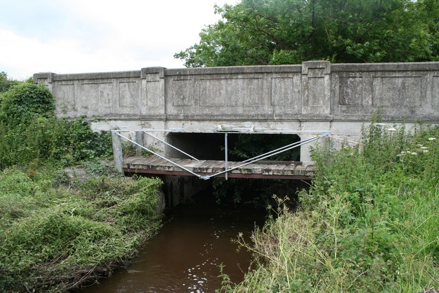 Unusual Footbridge