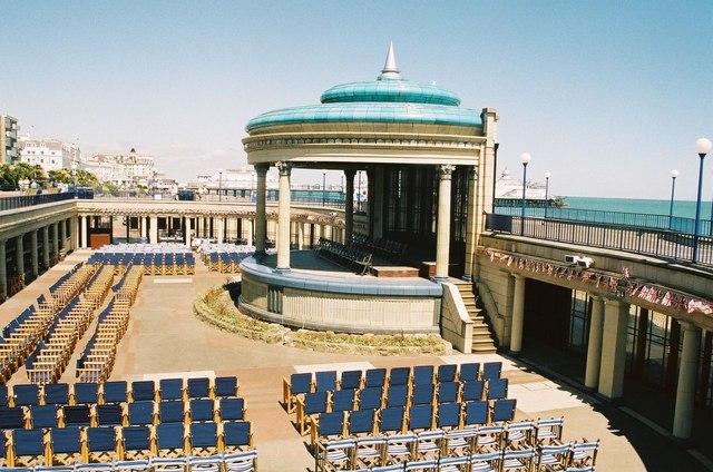 Eastbourne: bandstand