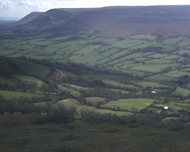 View across the Olchon Valley