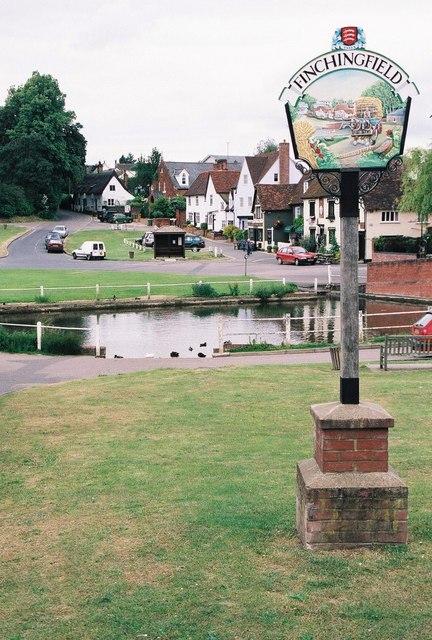 Finchingfield: village sign