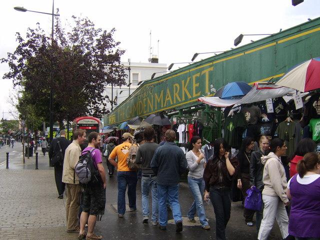 Entrance to Camden Market
