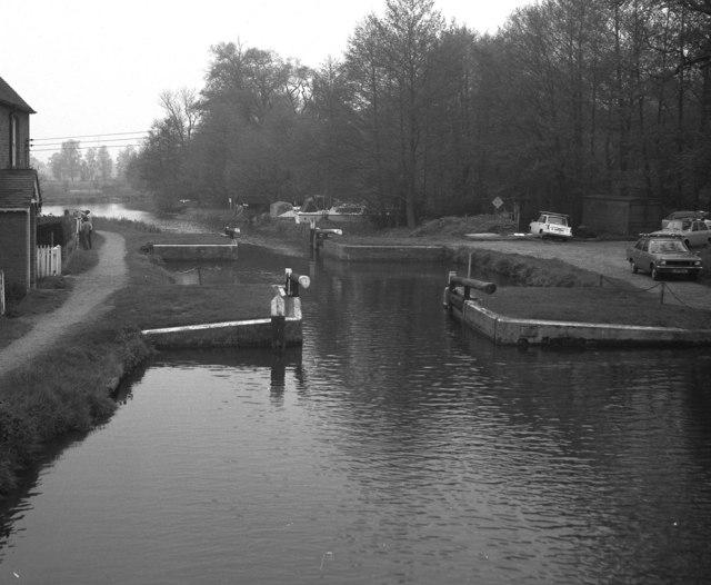 Walsham Gates, River Wey, Surrey