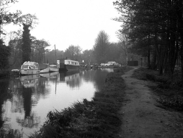 Above Pyrford Lock, Wey Navigation, Surrey