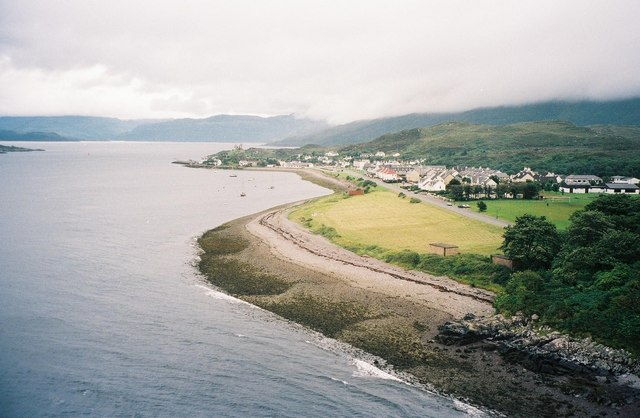 Kyle Akin shore from the Skye Bridge