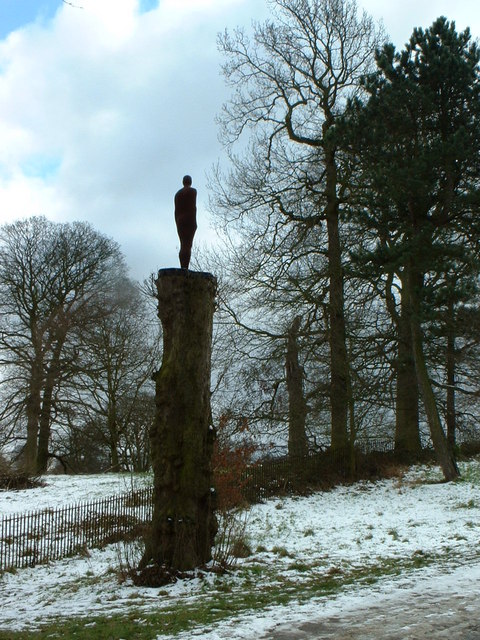 Yorkshire Sculpture Park, winter 2004