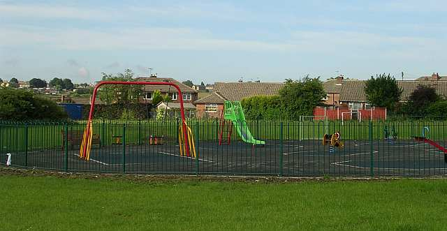 Children's Play Area off Chatsworth Road