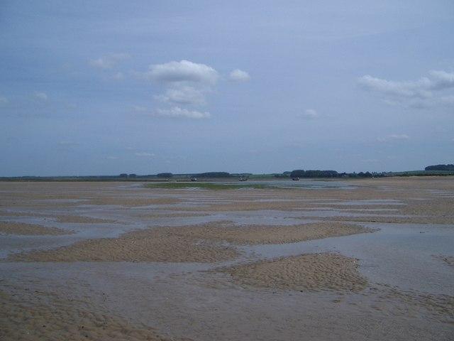 Eastern End of Brancaster Harbour