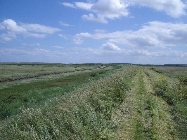 Norfolk Coastal Path in Burnham Norton Parish