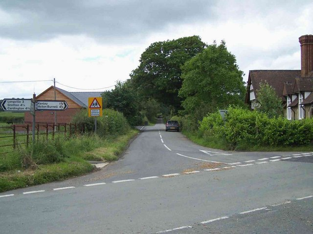Crossroads Near Church Preen
