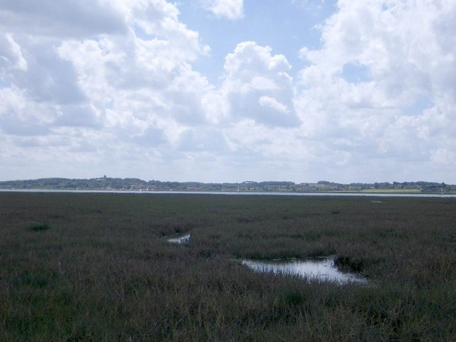 The Saltmarshes South of The Hood on Blakeney Point