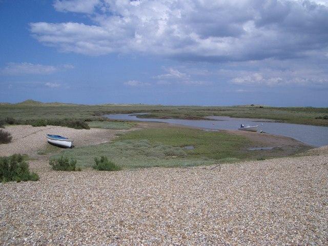 Pinchens Creek on Blakeney Point