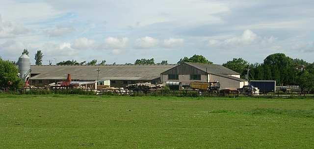Crossfield Farm from Priesthorpe  Road