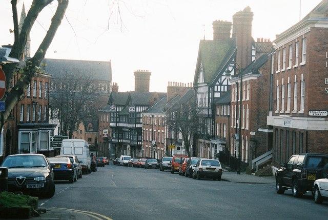 Leek: St. Edward Street