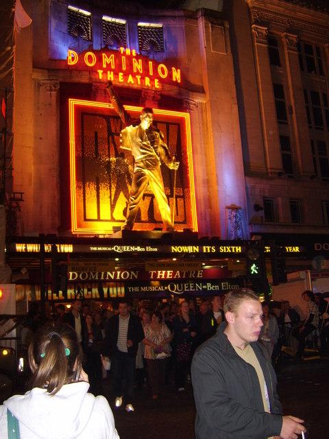 Dominion Theatre, Tottenham Court Road