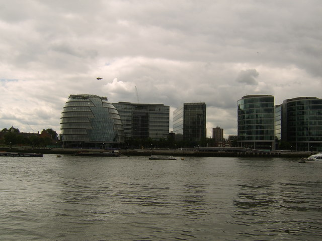 City Hall from across the Thames