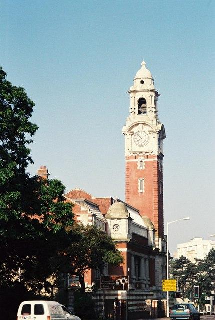 Bournemouth: Lansdowne clock tower